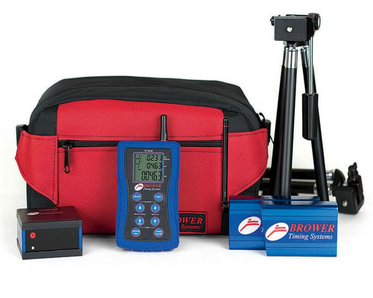 美国 Brower TCI timing system 运动跑步 冲线 计时系统