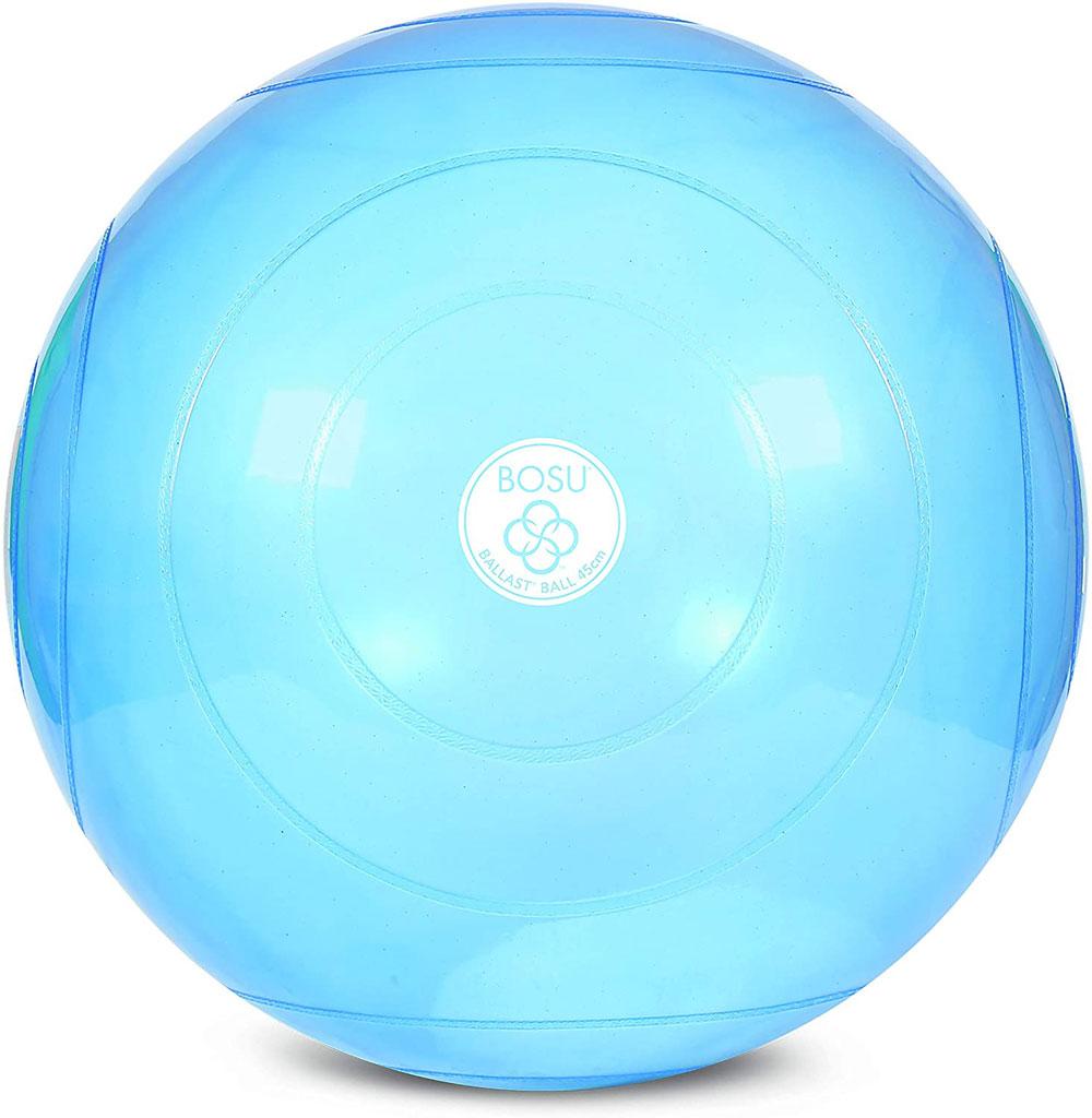 美国 BOSU Ball 半透明蓝色练习球 65CM 加厚防爆健身球
