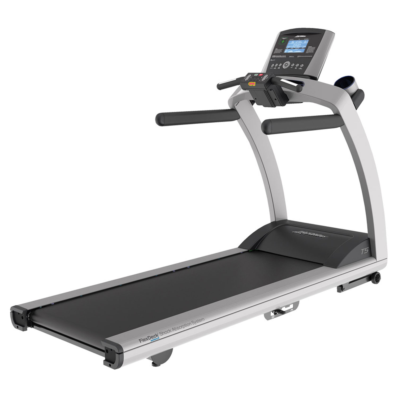 LifeFitness/力健进口跑步机家用健身器材多功能减震跑步